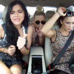 Garotas russas dirigindo