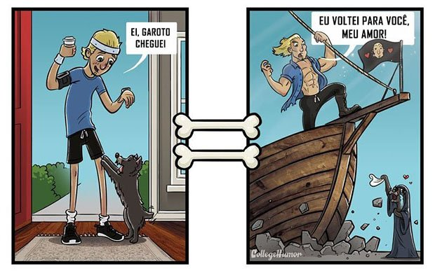 O mundo pelo ponto de vista de um cachorro (2)