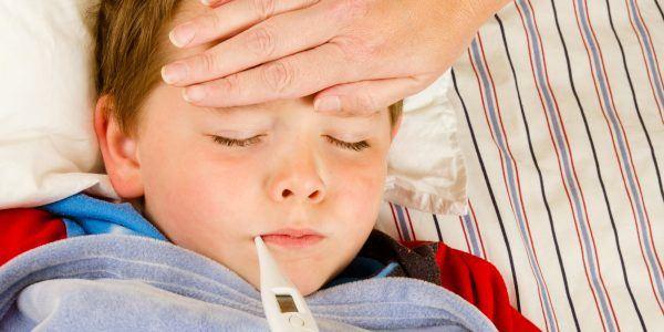 gripado crianca