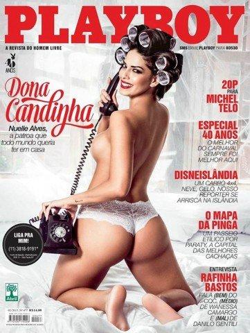 Fotos Playboy Nuelle Alves Dona Candinha Fevereiro 18