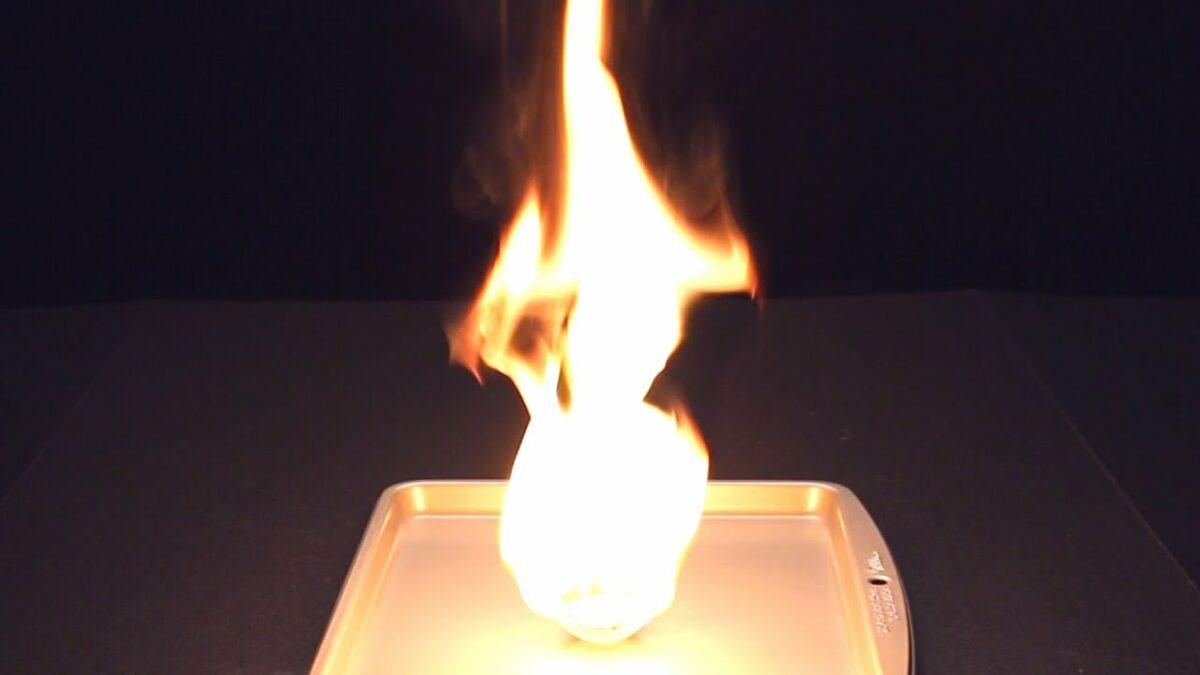 truques com fogo