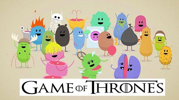 Dumb Ways to Die versão Game of Thrones 3