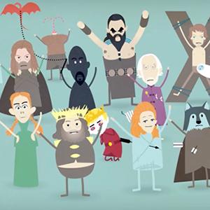Dumb Ways to Die versão Game of Thrones thumb