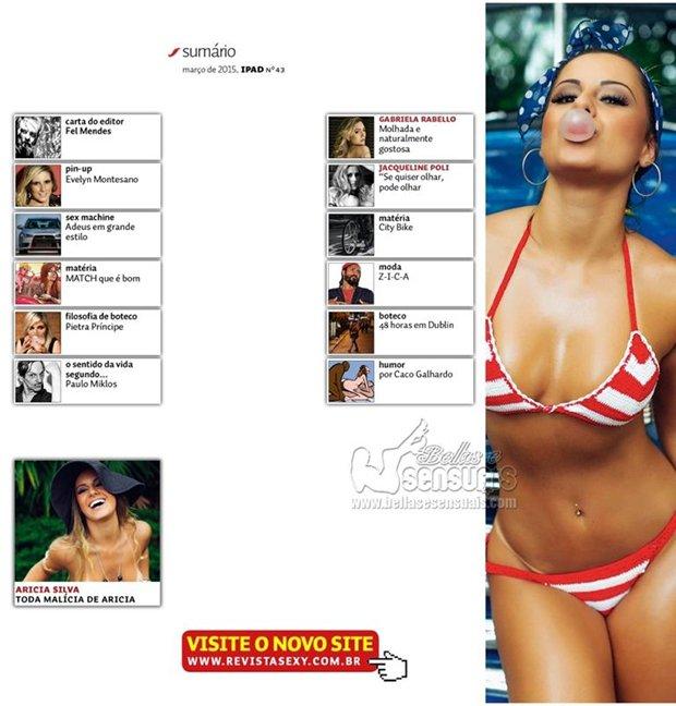 Fotos Sexy Aricia Silva Marco (2)