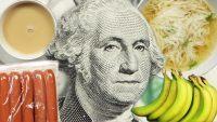 Quanto de comida você pode comprar com $5 pelo mundo?