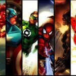 super herois marvel vs dc