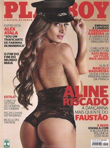 Fotos Playboy Aline Riscado Junho 1