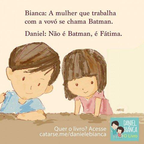 Os diálogos de Daniel e Bianca