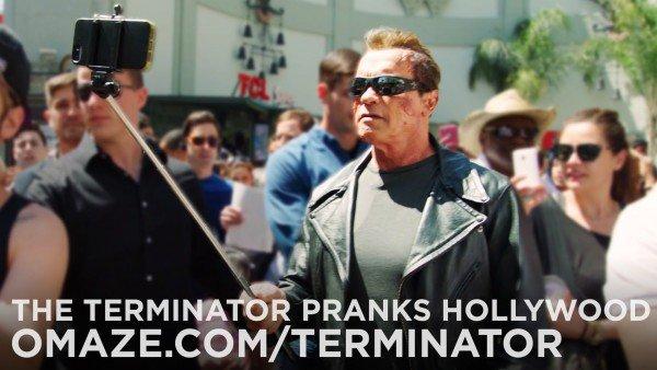 Arnold Schwarzenegger e a pegadinha do Exterminador do futuro 2