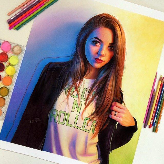 Ilustracoes realistas feitas apenas com lapis de cor (12)
