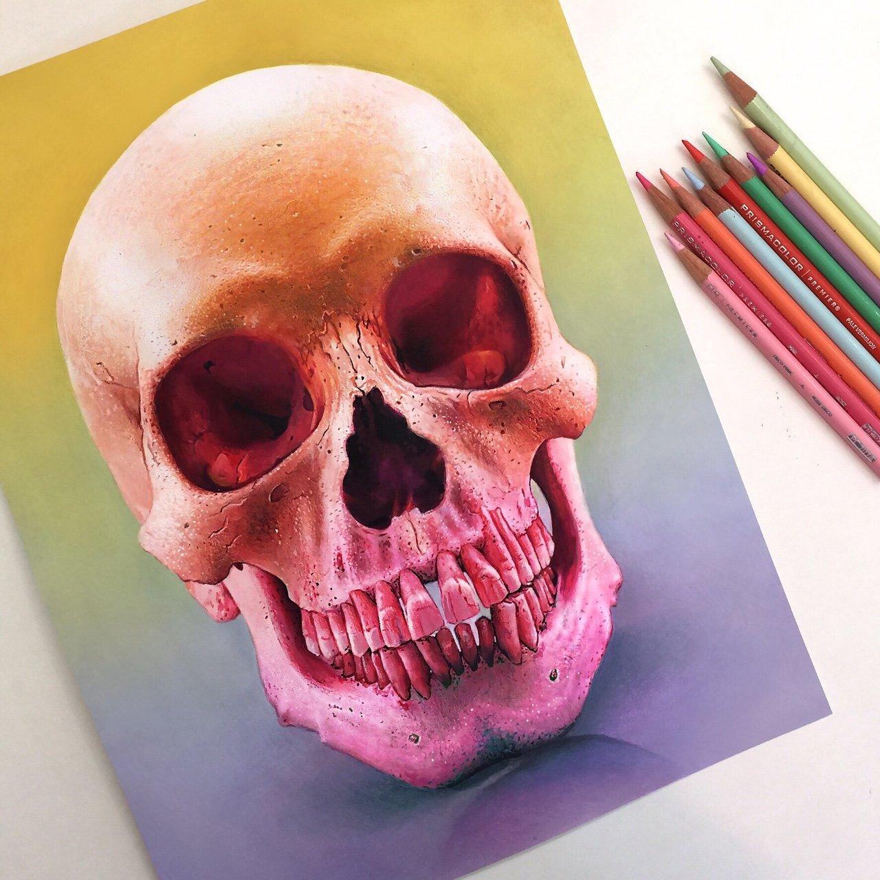 Ilustracoes realistas feitas apenas com lapis de cor (14)