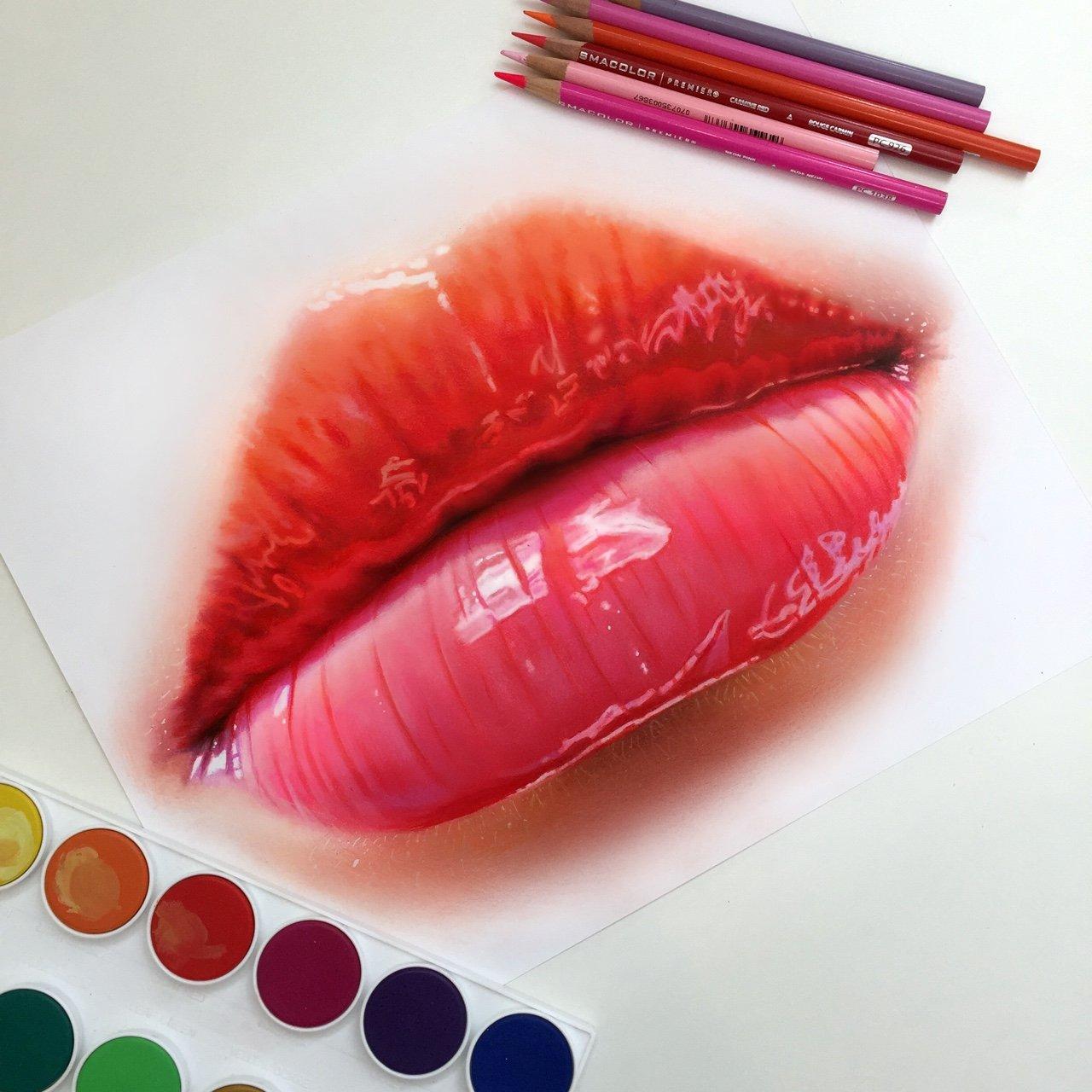 Ilustracoes realistas feitas apenas com lapis de cor (18)