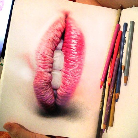 Ilustracoes realistas feitas apenas com lapis de cor (19)