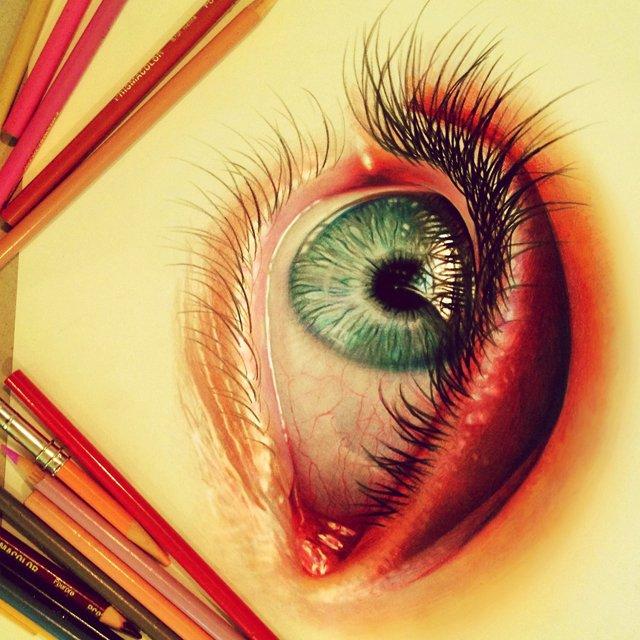 Ilustracoes realistas feitas apenas com lapis de cor (4)