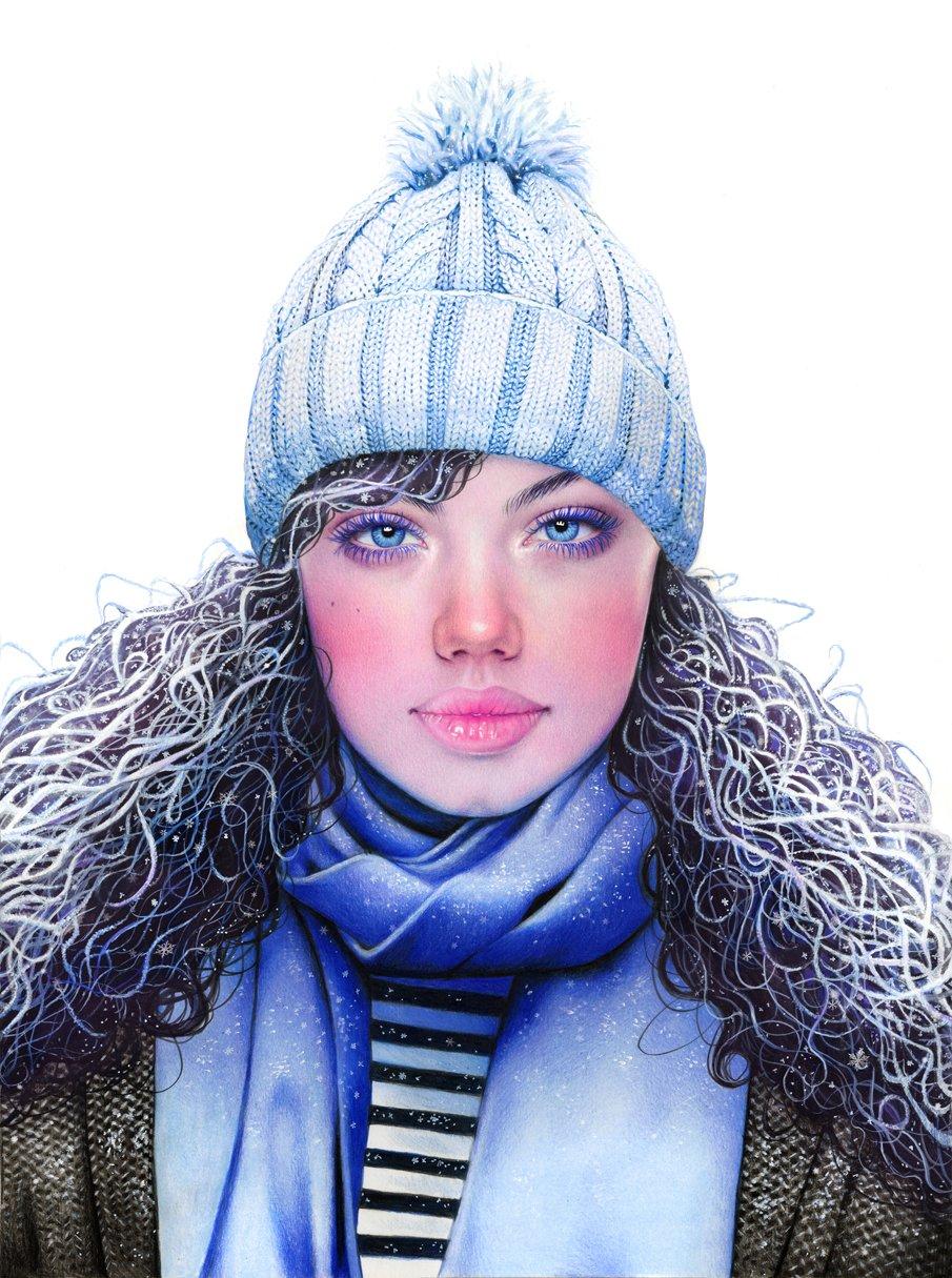 Ilustracoes realistas feitas apenas com lapis de cor (6)