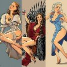 Personagens de Game of Thrones como modelos Pin-Ups (10)