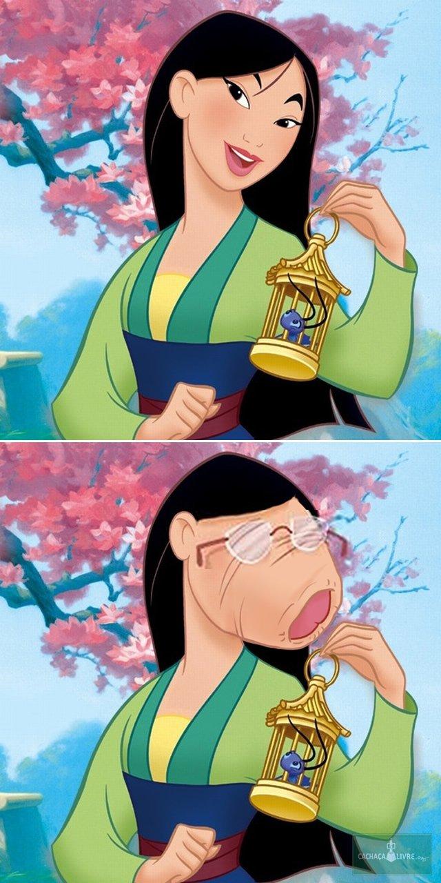 Princesas da Disney como se fossem meu pau de oculos (4)