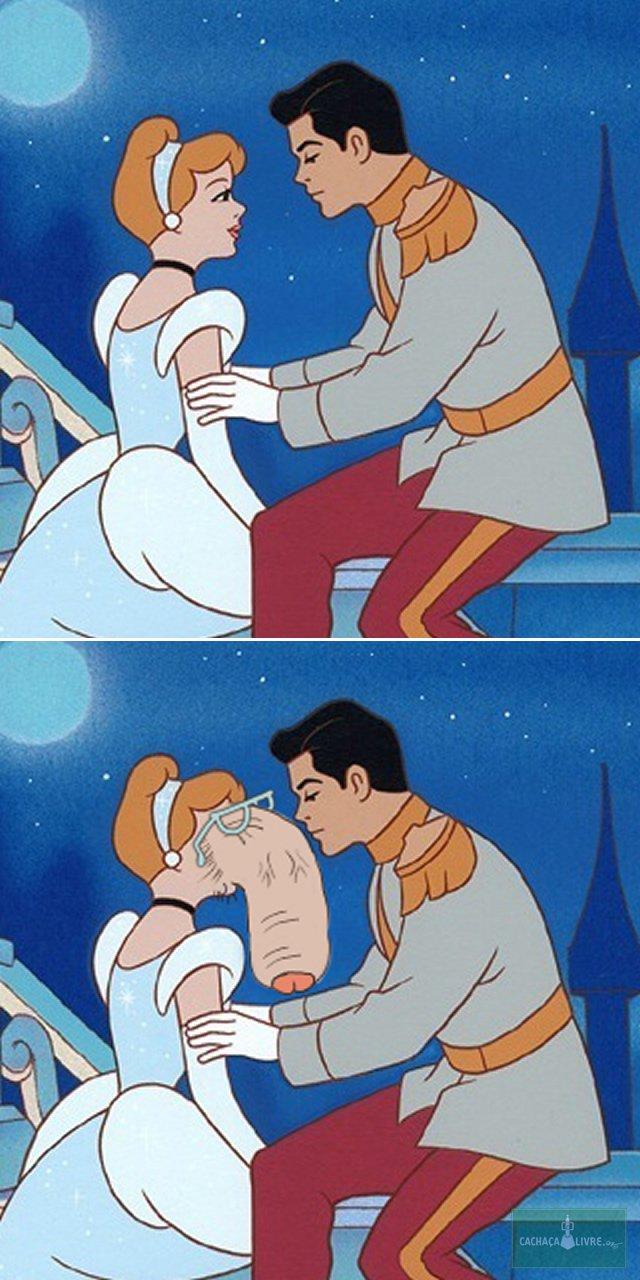 Princesas da Disney como se fossem meu pau de oculos (5)