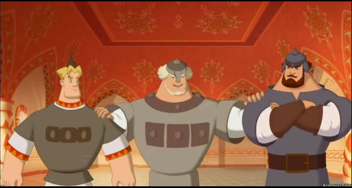 [Curta Animado] Os Heróis Russos - 2