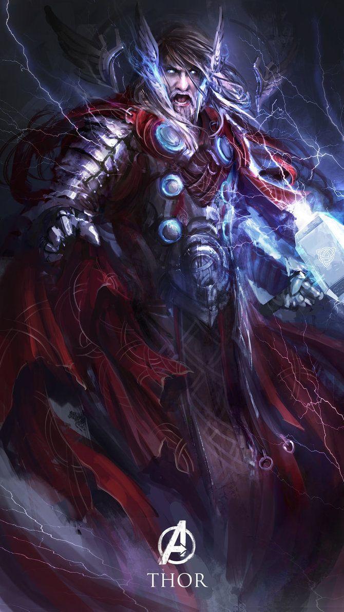 Os Vingadores em versoes magicas e medievais (1)