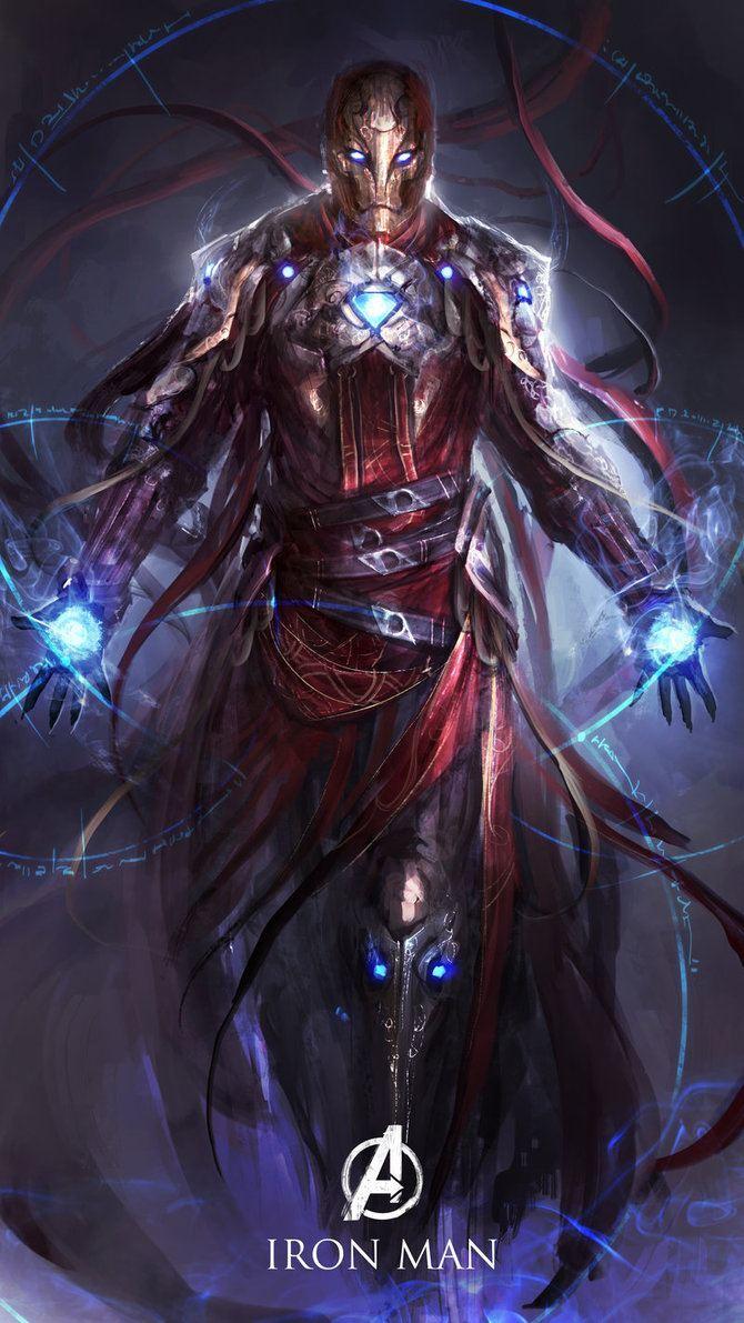 Os Vingadores em versoes magicas e medievais (6)