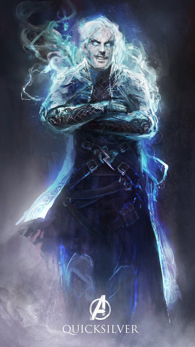 Os Vingadores em versoes magicas e medievais (7)
