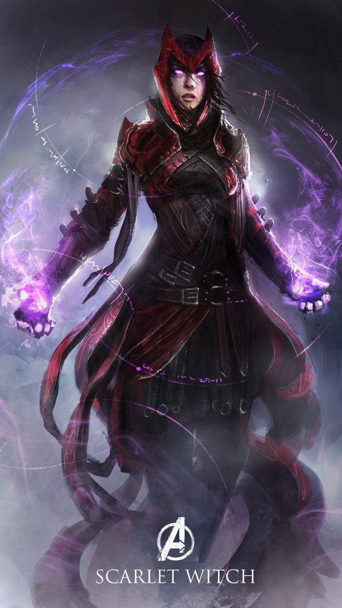 Os Vingadores em versoes magicas e medievais (8)