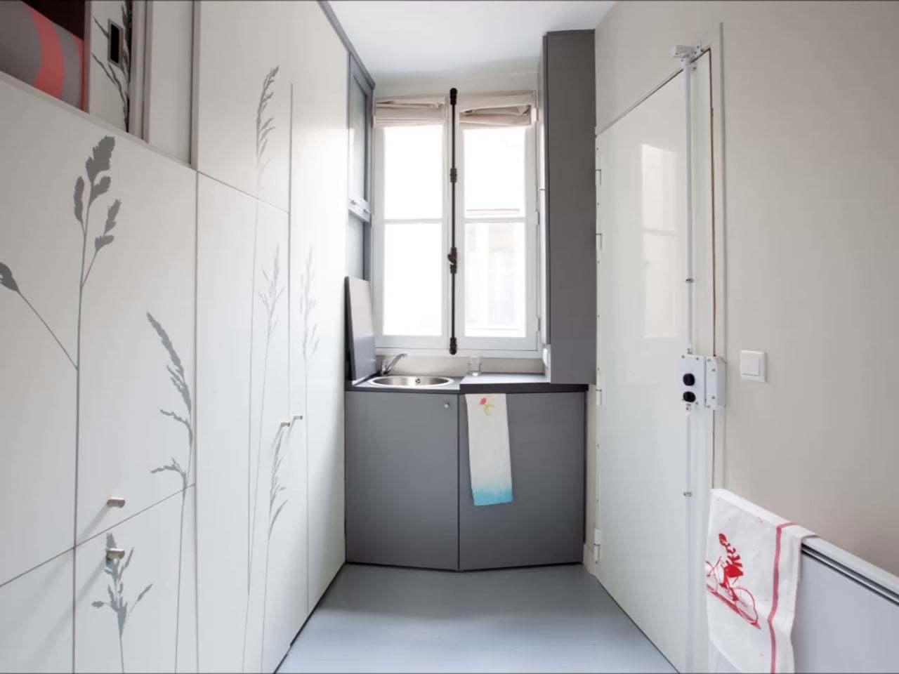 Você já pensou em morar em um apartamento de 8m²?