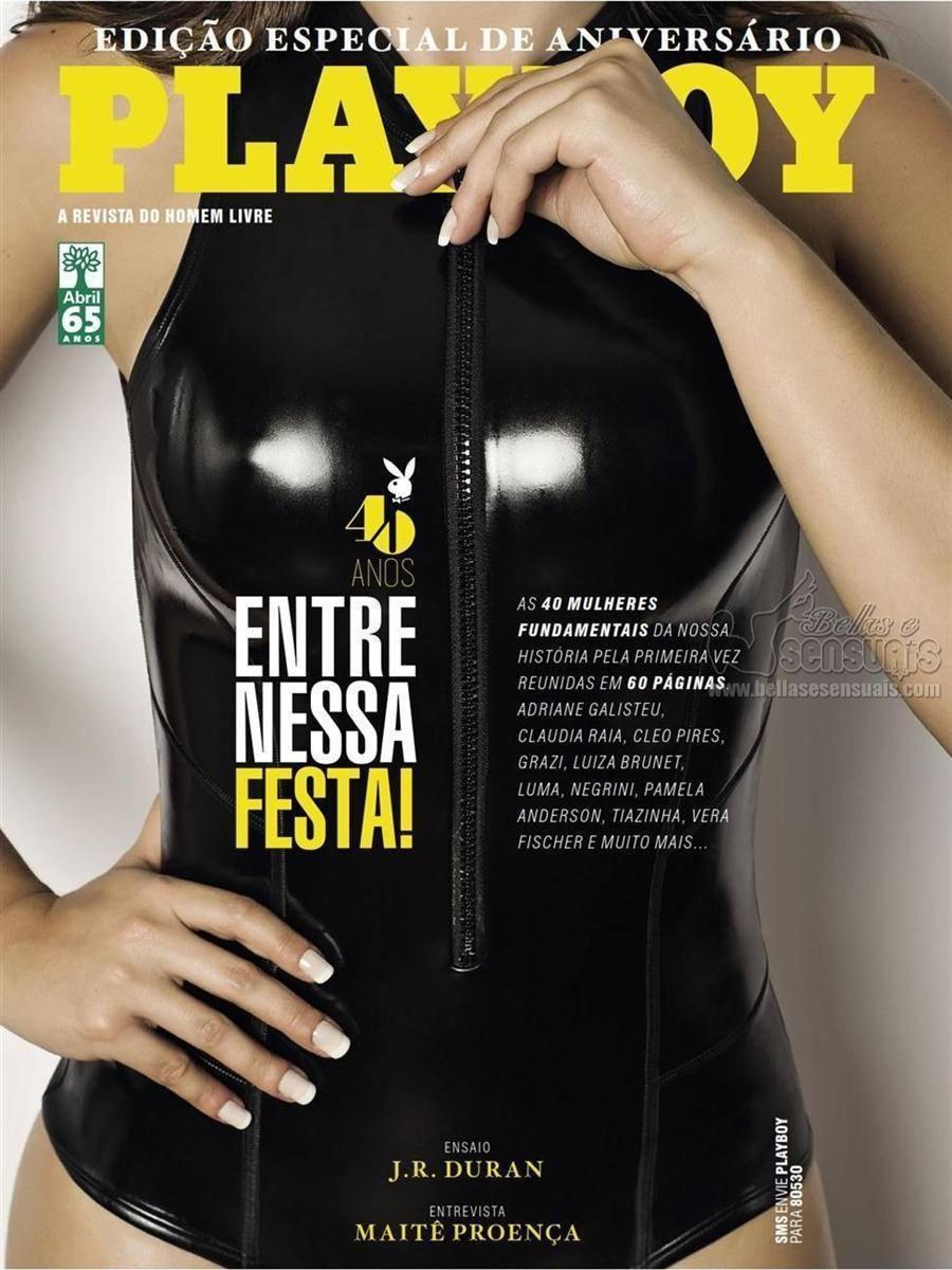Fotos Playboy Agosto Especial 40 Anos 1