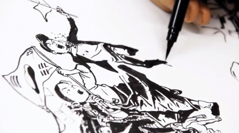 Time-Lapse: Desenhando a bandeira coreana