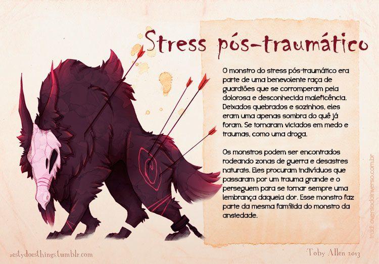 Se doenças mentais fossem monstros (11)