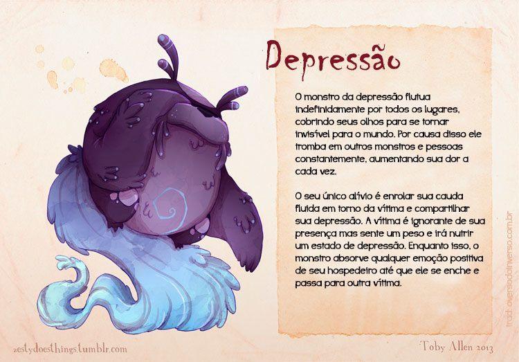 Se doenças mentais fossem monstros (4)