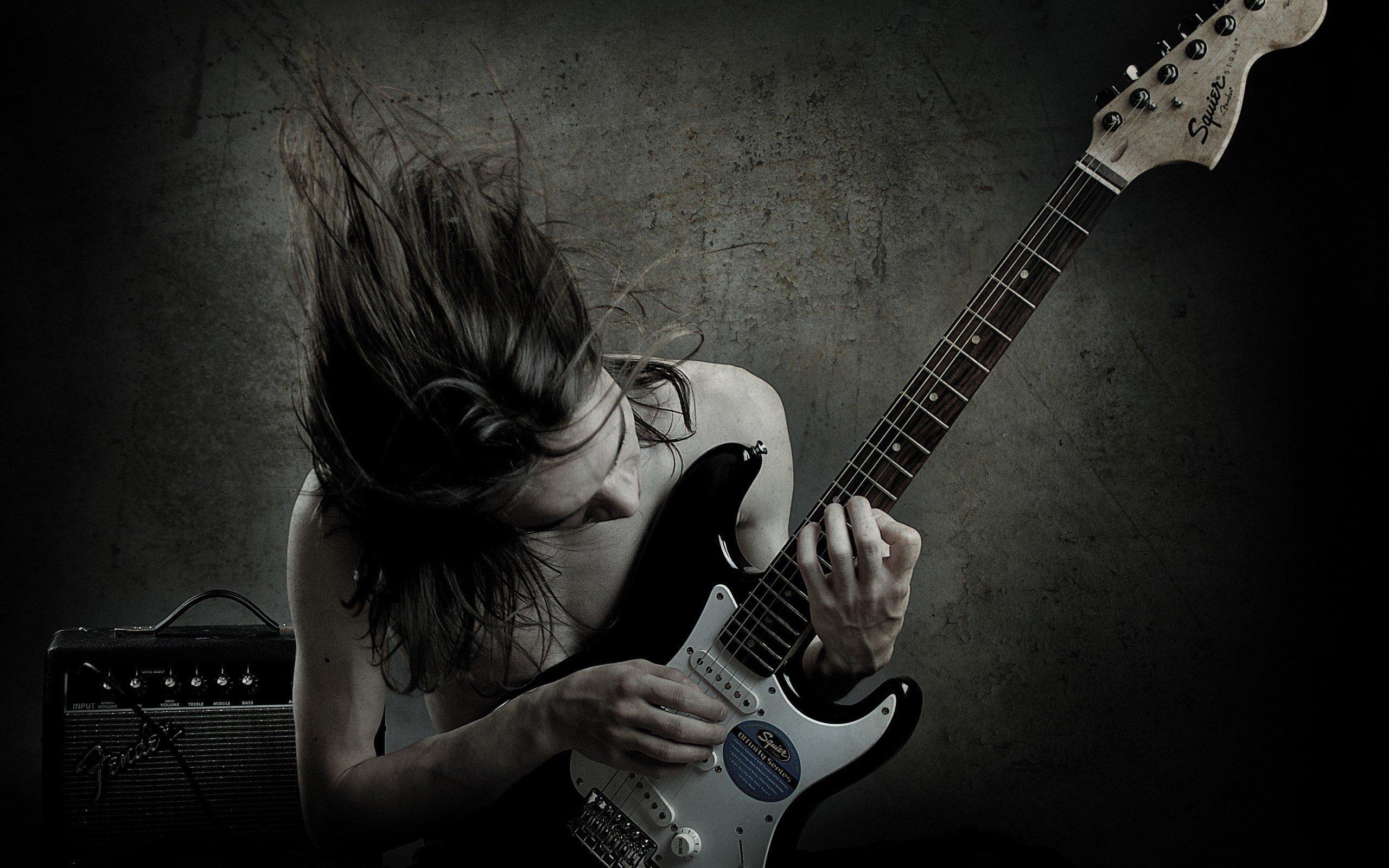 Tipos diferentes de guitarristas