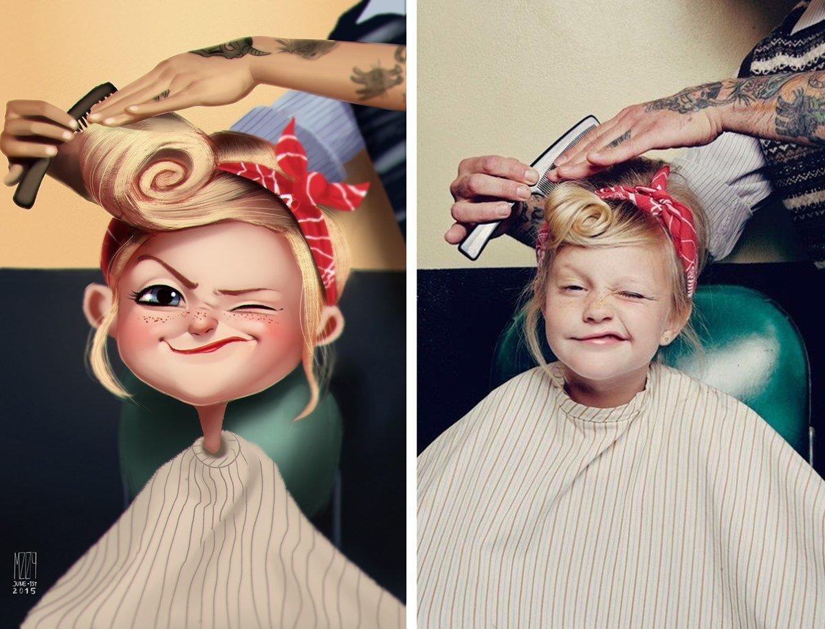 Transformando fotos reais em ilustrações