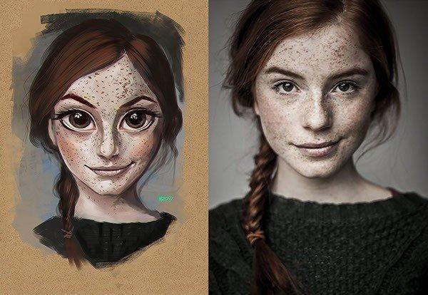 Transformando fotos reais em ilustracoes (7)