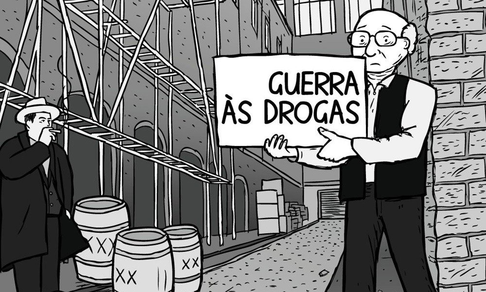 Voce e a favor da guerra as drogas