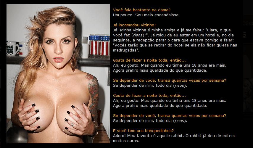 Fotos Sexy Clara Aguilar Novembro (2)