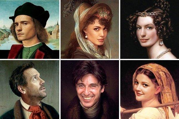 Como seriam as celebridades no renascentismo