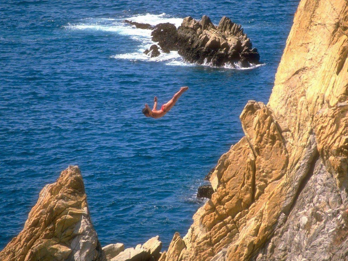 O ultimo mergulho na vida de uma pessoa