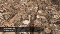 A destruição causada pela guerra na Síria