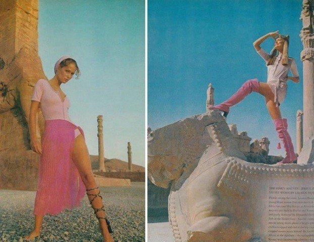 Como as mulheres no Ira se vestiam nos anos 70 (2)