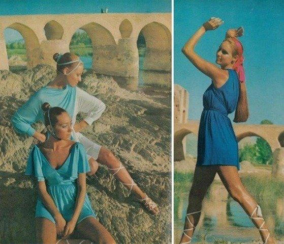 Como as mulheres no Ira se vestiam nos anos 70 (5)