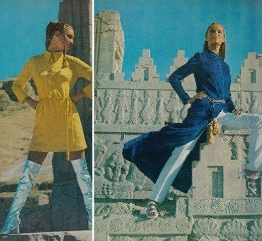 Como as mulheres no Ira se vestiam nos anos 70 (9)
