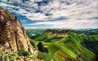 Entre montanhas e vales