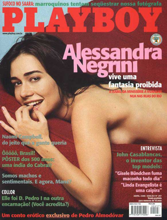 Fotos Playboy Alessandra Negrini Abril 1