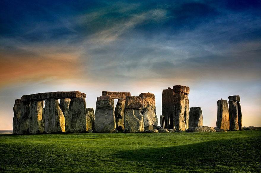 Lugares famosos e seus verdadeiros arredores (3)
