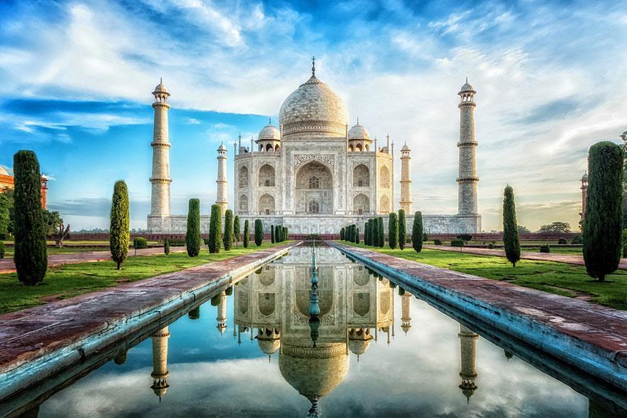 Lugares famosos e seus verdadeiros arredores (5)