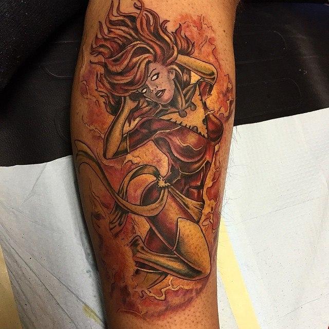 Tatuagens inspiradas em quadrinhos (1)