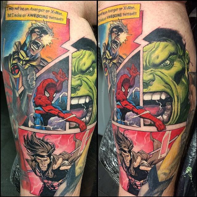 Tatuagens inspiradas em quadrinhos (2)
