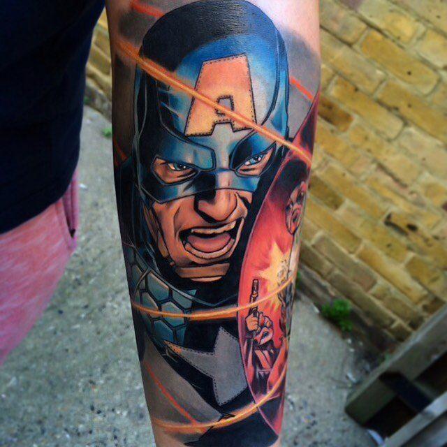 Tatuagens inspiradas em quadrinhos (3)
